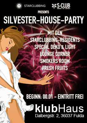 starclubbing silvester house party klubhaus sc residents